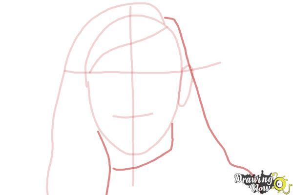 How to Draw Skrillex - Step 4