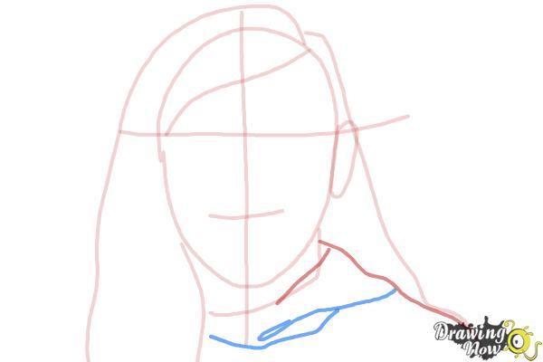 How to Draw Skrillex - Step 5