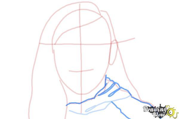 How to Draw Skrillex - Step 6