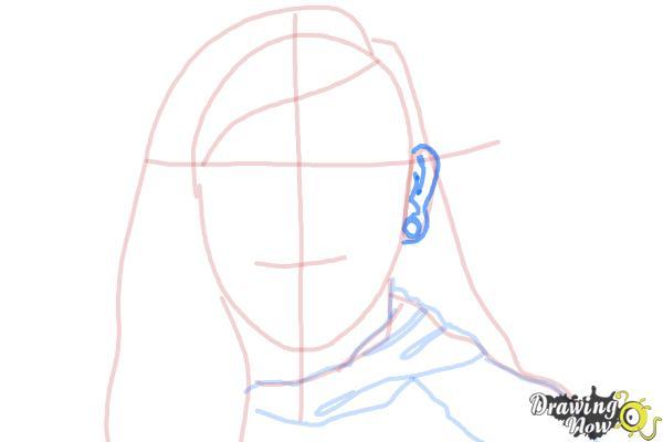 How to Draw Skrillex - Step 7