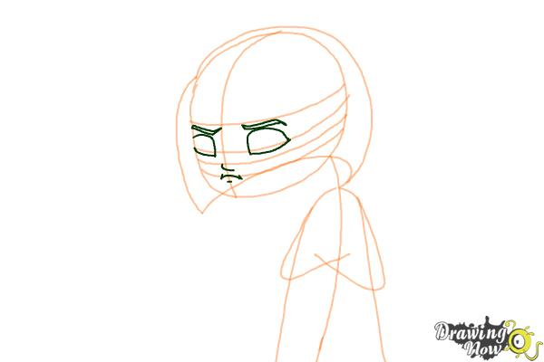 How to Draw a Sad Girl - Step 5