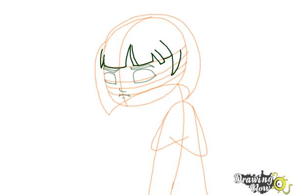 How to Draw a Sad Girl - Step 6