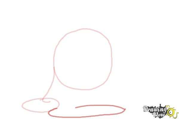 How to Draw Slime Princess from Adventure Time - Step 3