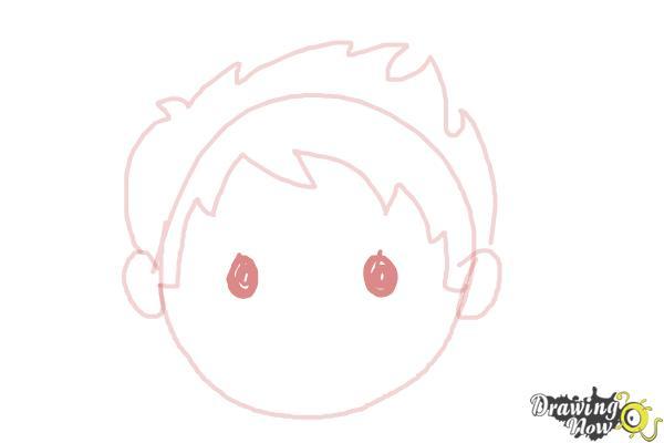 How to Draw a Sad Face - Step 5