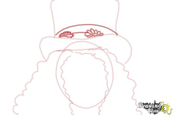 How to Draw Slash, Saul Hudson - Step 5