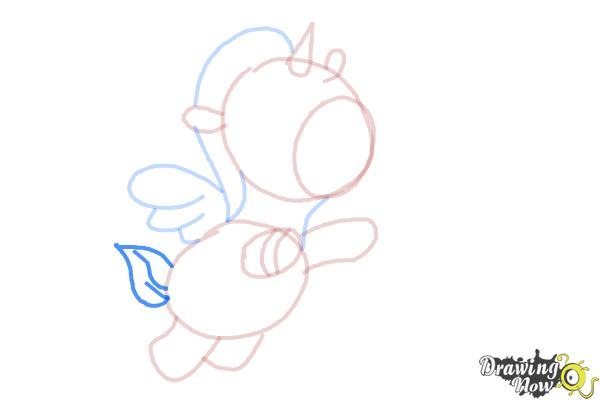 How to Draw a Unicorn For Kids - Step 10