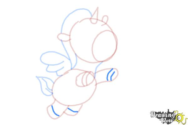 How to Draw a Unicorn For Kids - Step 11