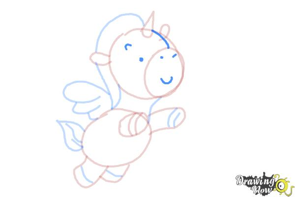 How to Draw a Unicorn For Kids - Step 12