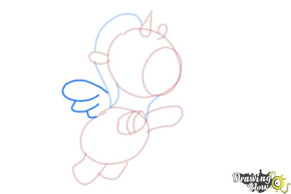 How to Draw a Unicorn For Kids - Step 9