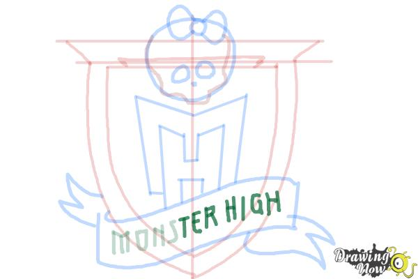 How to Draw Monster High - Step 10