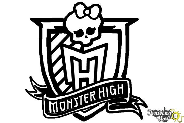 How to Draw Monster High - Step 11