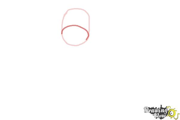 How to Draw a Sock Monkey - Step 2