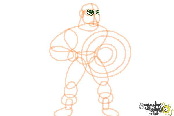 How to Draw a Superhero - Step 11
