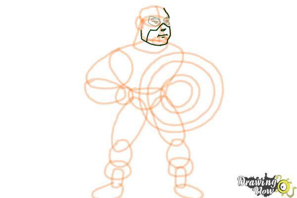 How to Draw a Superhero - Step 12