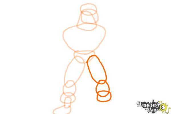How to Draw a Superhero - Step 6