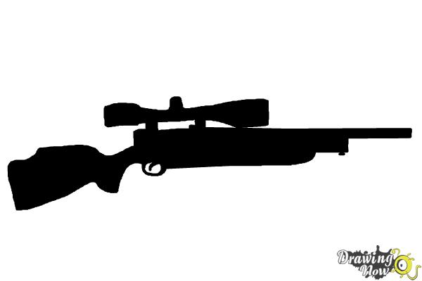 Military Aiming With Sniper Rifle Coloring Pages : Color Luna | 400x600