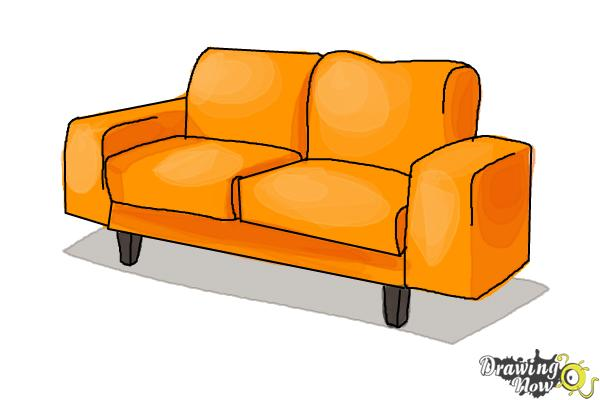 Fine How To Draw A Sofa Pdpeps Interior Chair Design Pdpepsorg