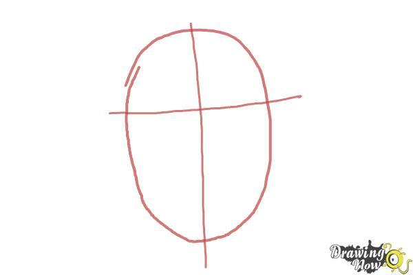 How to Draw Jaimie Alexander - Step 1