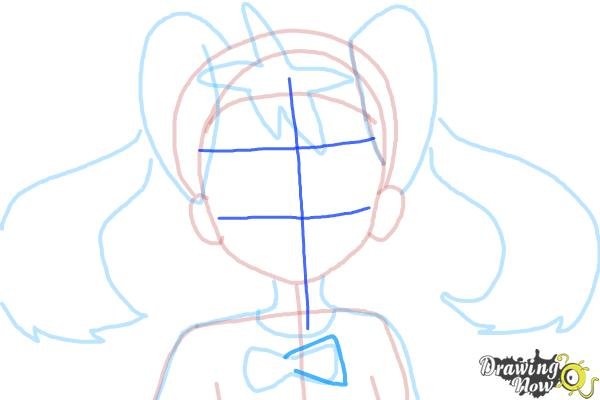 How to Draw Shauna from Pokemon X And Y - Step 8