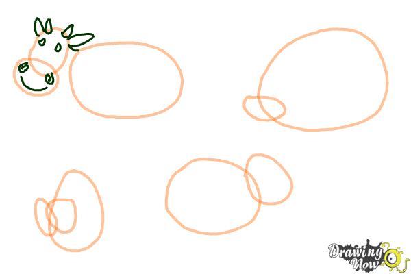 How to Draw Stick Animals - Step 5