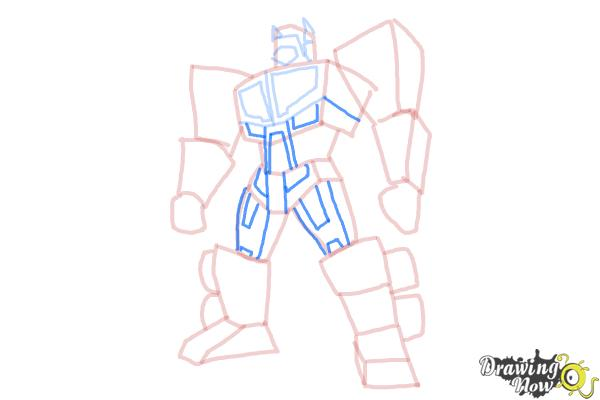 How to Draw Transformers Prime - Step 10