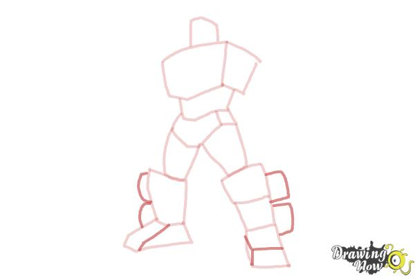 How to Draw Transformers Prime - Step 6