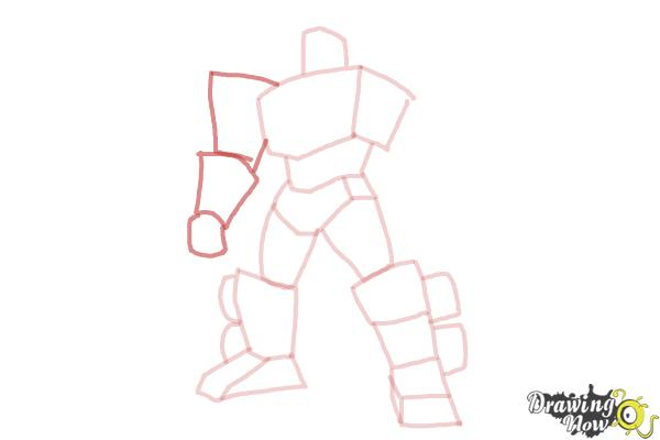 How to Draw Transformers Prime - Step 7
