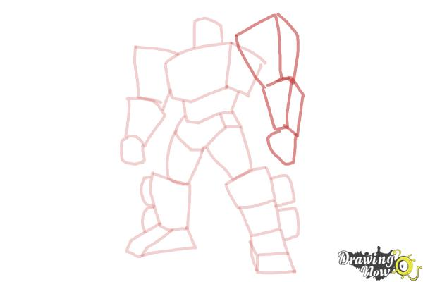 How to Draw Transformers Prime - Step 8