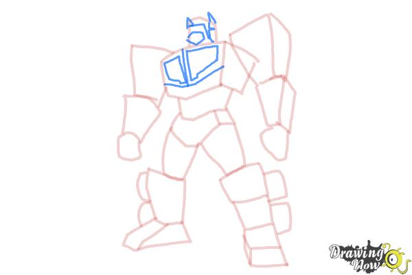 How to Draw Transformers Prime - Step 9