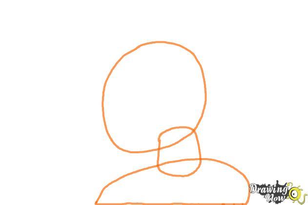 How to Draw Kurumu Korono from Rosario + Vampire - Step 1