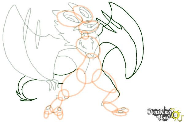 noivern coloring pages - photo#27