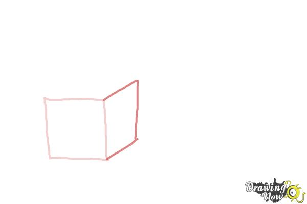 How to Draw Christmas Presents - Step 2