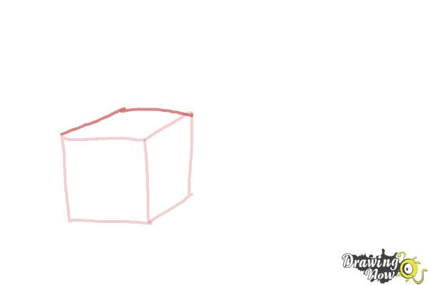 How to Draw Christmas Presents - Step 3