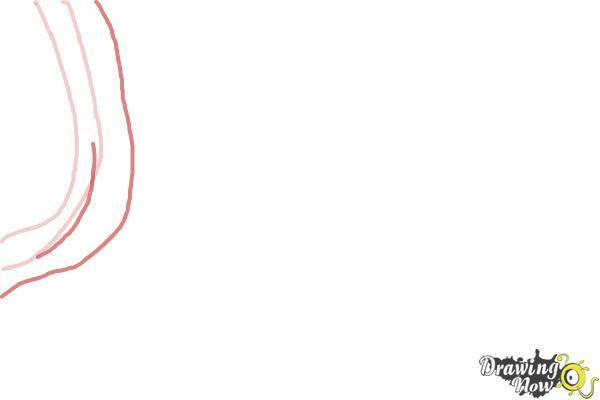 How to Draw Zebra Print - Step 2