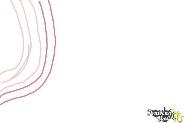 How to Draw Zebra Print - Step 3