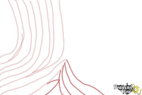 How to Draw Zebra Print - Step 6