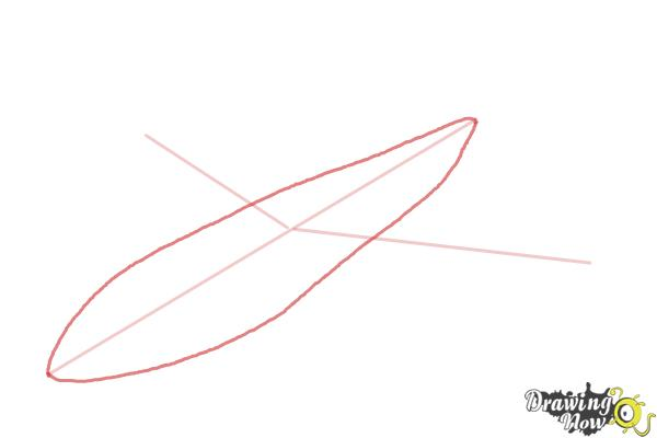 How to Draw a Airplane - Step 3