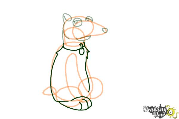 How to Draw Vinny Griffin from Family guy - Step 7