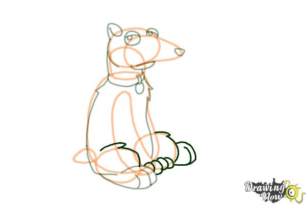How to Draw Vinny Griffin from Family guy - Step 8