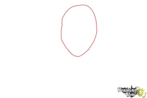 How to Draw Viperine Gorgon from Monster High - Step 1