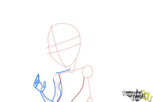 How to Draw Honey Swamp from Monster High - Step 5