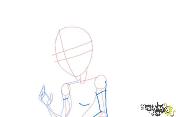 How to Draw Honey Swamp from Monster High - Step 6