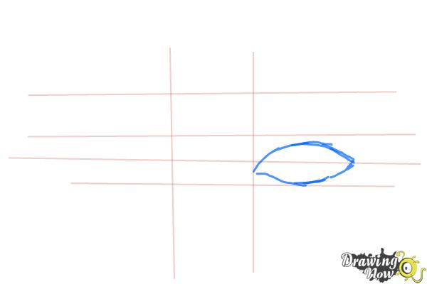 How to Draw Eyes Step by Step - Step 3