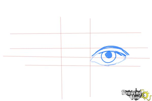 How to Draw Eyes Step by Step - Step 4