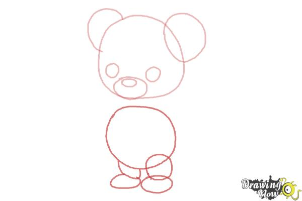 How to Draw a Bear for Kids - Step 3