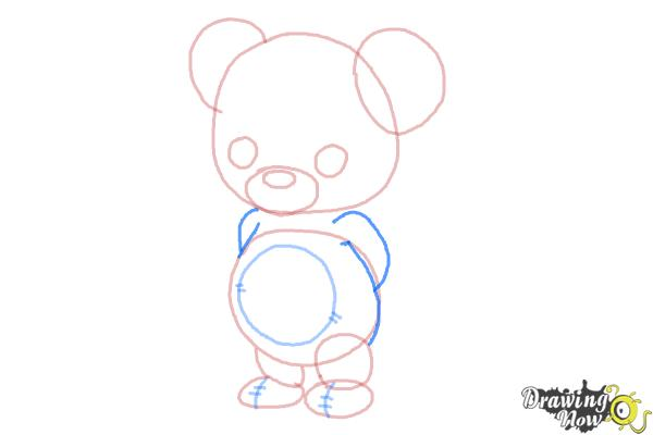 How to Draw a Bear for Kids - Step 5
