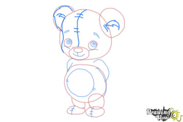 How to Draw a Bear for Kids - Step 7