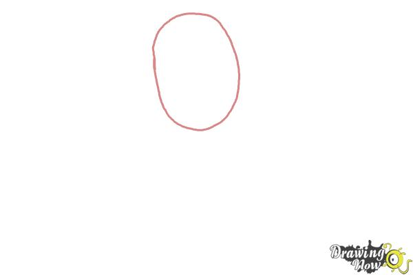 How to Draw Elissabat,  Veronica Von Vamp from Monster High - Step 1