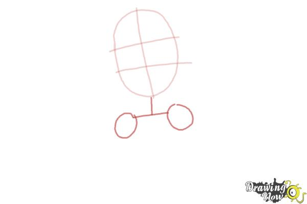 How to Draw Elissabat,  Veronica Von Vamp from Monster High - Step 3