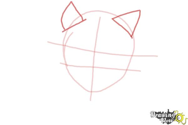 How to Draw Clawdia Wolf from Monster High - Step 3